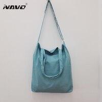 Novelbag 2016 Large Reusable Grocery Tote Bag Big Foldable Shopping Bag Canvas Cotton Ecobag 4 Colors