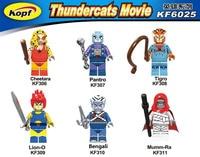 Super Heroes American TV Movie Thundercats Cheetara Mumm Ra Tigro Panthro Bricks Model Building Blocks Children