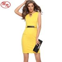 2017 Summer New Dress Plus Size Maxi Bodycon Dress Women Sleeveless Office Pencil Dresses Vestido De