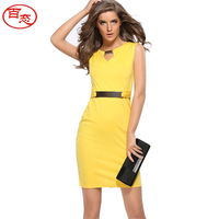 2017 Summer New Dress Plus Size Maxi Bodycon Dress Women Sleeveless Office Pencil Dresses Vestido De