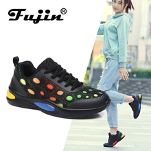 FUJIN Brand  Women Casual Sneakers Flats Spring Autumn Summer Female Shoes Fashion Comfortable for