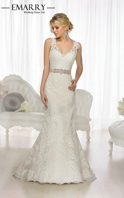 sophisticated wedding dress