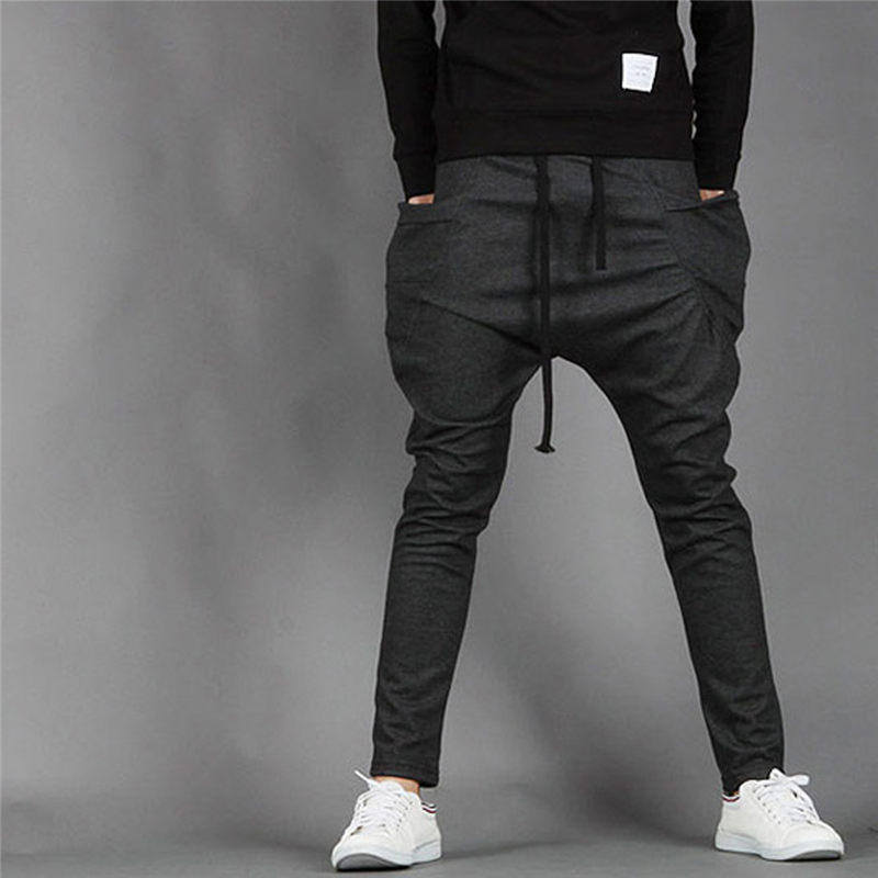 Men Harem Pants Casual Pants Trouse Boys School Trousers Pants Baggy Cool Fashion Joggers New Arrival 0017