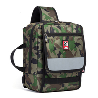 Canvas Small Bag Women Crossbody Casual Men One Strap Shoulder Pack Expand With Fold Skateboard Package