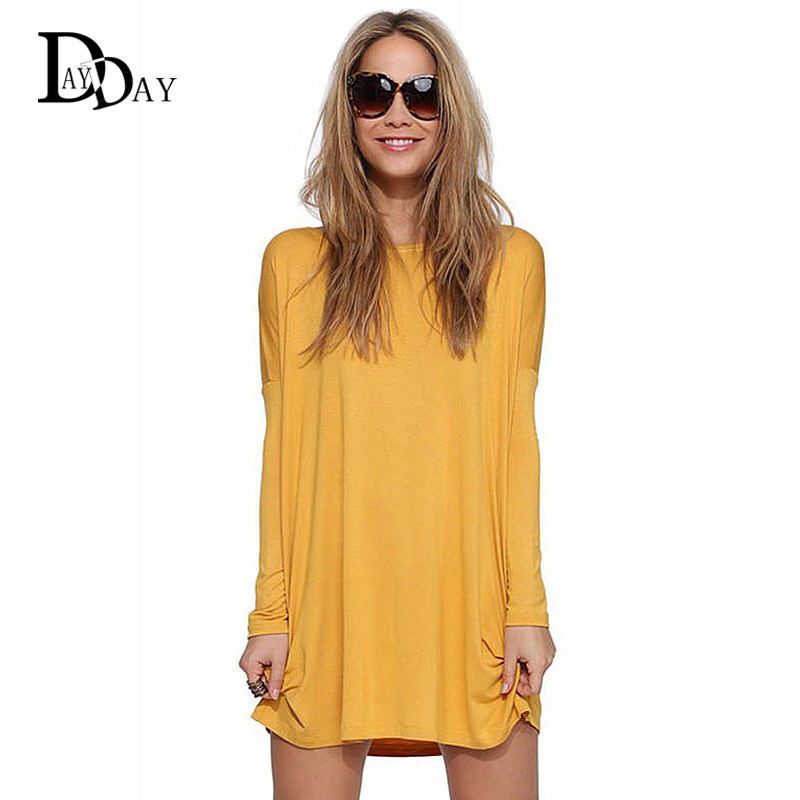 Popular Yellow T Shirt Dress Buy Cheap Yellow T Shirt