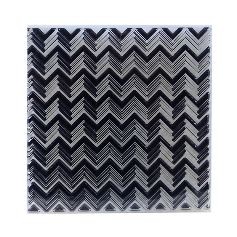 DIY Scrapbooking Albums Charm Waves Stripe Stamp/Seal Transparent DIY Silicone Stamp/Seal Decorative Sheets Arts Crafts Sewing