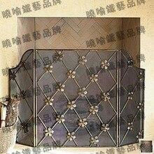 Европейский тип, восстанавливающий древние пути, делает старый высококачественный кованый железный напольный Мантел. Угли забор