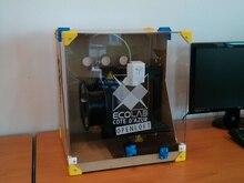Horizon Elephant Tiertime UP! Plus 2 3d printer acrylic enclosure, acrylic frame housing good for ABS printing Afinia H480