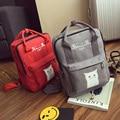 Japan and Korean Style Canvas Cat Printing Backpack Women School Bag for Teenage Girls Cute Bag Shoulder Bag Large Travel bag