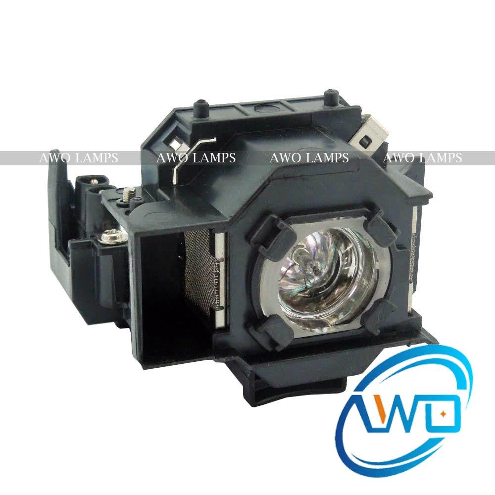 AWOs Ersatzprojektorlampe ELPLP33 / V13H010L33 für Projektor - Heim-Audio und Video - Foto 1