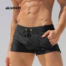ALSOTO Sexy Man Swimwear Men's Swimsuits Swimming Trunks Sunga Hot Mens Swim Briefs