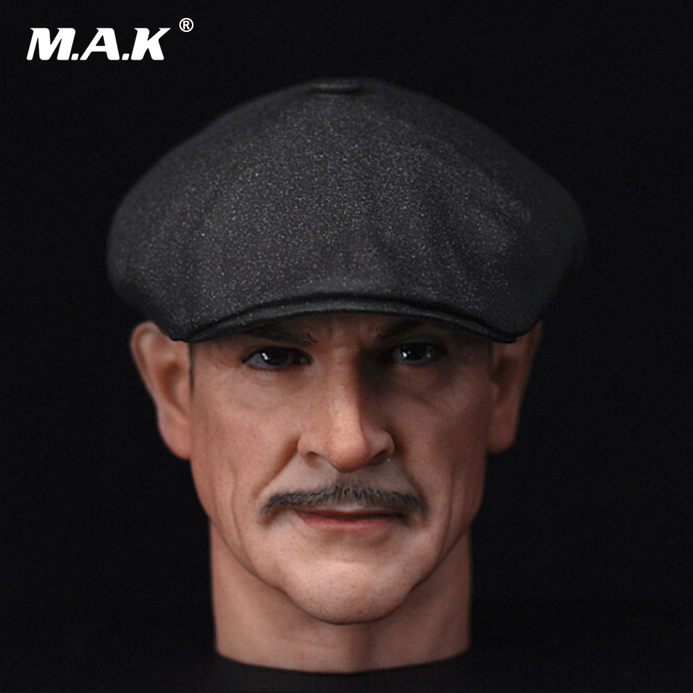 1/6 Scale Sean Connery Headplay Male Head Sculpt The Untouchables W Hat for 12 Action Figure Accessories 1 6 scale male clothes suit the game of death bruce lee head sculpt