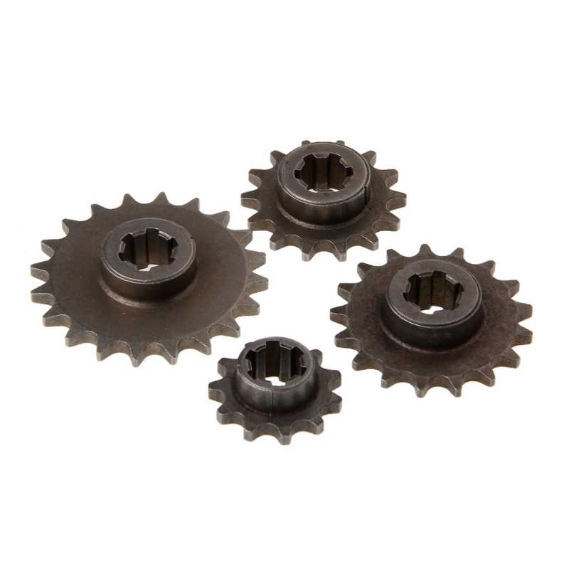 47cc 49cc Motorcycle T8F 8mm 11 14 17 20 Tooth Front Pinion Sprocket Chain Cog Motorcycles Drive & Gears Accessories