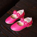 Fashion Flowers Baby Girls Children Shoes Girls First Walker Pink Black White Spring Kids Shoes Breathable