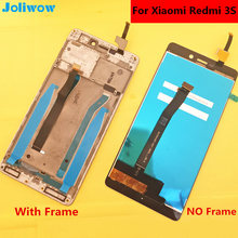 tested! FOR Xiaomi Redmi 3s LCD Display +Touch Screen+FrameReplacement Accessories for Hongmi3 Redmi 3 Give flim