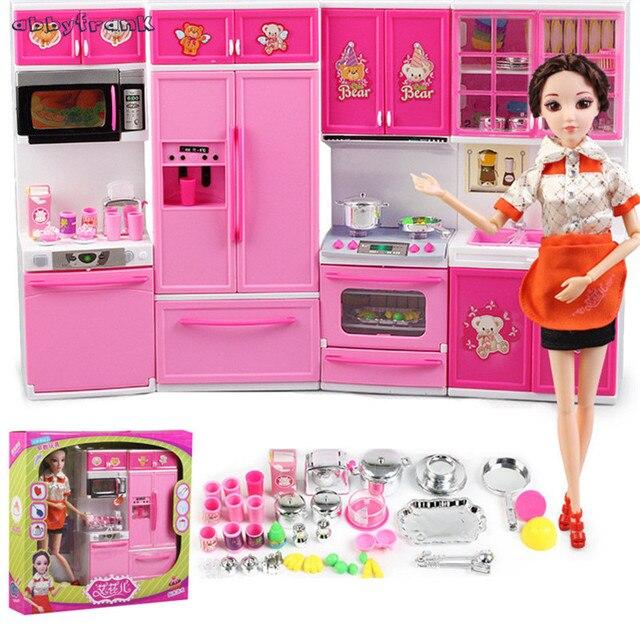Abbyfrank Miniatur Simulation Küche Kühlschrank Spielzeug Pretend ...