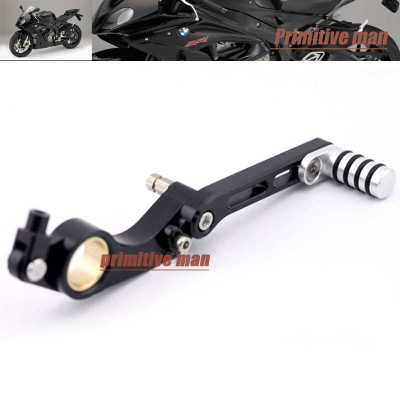 ФОТО For BMW S1000RR 2010-2014 S1000RR HP4 2012-2014 CNC Aluminum Adjustable Rear Foot Brake Pedal Lever