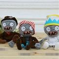 25 cm wholesale plush toys white zombie kids toys birthday gift 1 piece Plants vs Zombies stuffed doll baby toys