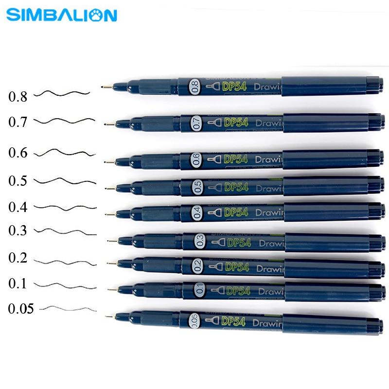 Sakura Pigma Micron pen 005 Black ink marker felt tip pen ... |Fine Point Marker Drawings