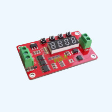 цена на DTM01 time delay relay / transistor module / delay / self-locking / cycle / DC solid state relay