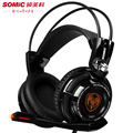 Pro Gaming Headphones With Microphone Somic G941 7.1 Surround Sound Effect USB Game Headset With Vibrating Function For PC Gamer
