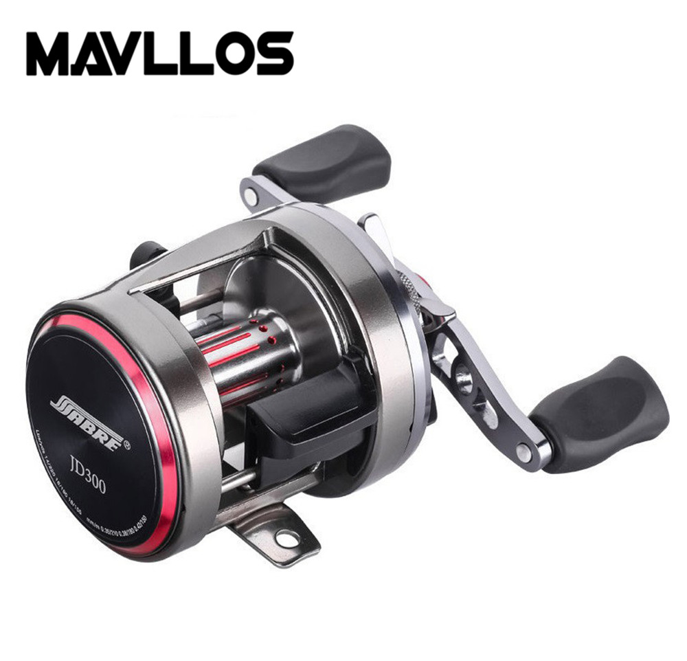 Mavllos Large Drag Force Jigging Fishing Reel 7+1BB Magnetic Brake Round Baitcasting Reel Metal Body Saltwater Trolling Reels trolling reel 9 1bb drum wheel carp baitcasting reels centrifugal brake casting saltwater fishing reel super power drag 30kg
