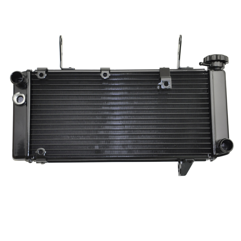 цена на LOPOR LOPOR Motorcycle Parts Aluminium Cooling Radiator Naked For Suzuki SV1000 SV1000N Naked Model 2003-2007 SV 1000 N 03-07