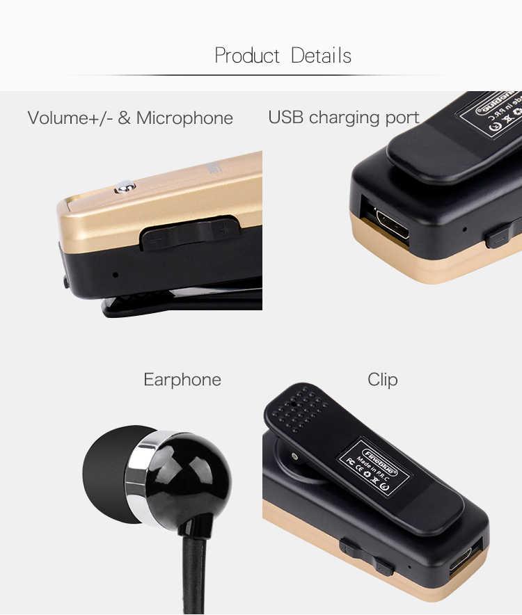 003058d68b8 ... 2018 HOT fineblue F980 Car Bluetooth Headphone In-Ear Handsfree Mini  Wireless Headset Wear Clip ...