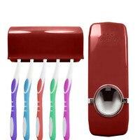 Автоматическая зубная паста для ленивых дозаторов с 5 держателем Зубной Щетки Набор Подставка для настенного монтажа новые творческие аксе...