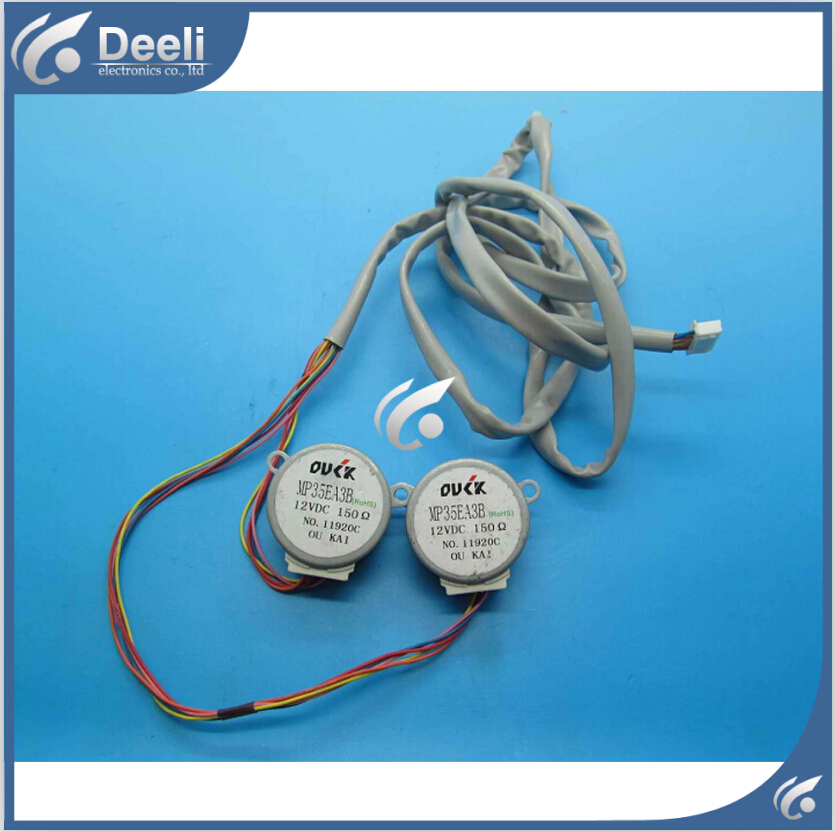 good working for Air Midea conditioner control board motor MP35EA3B 12VDC motor 95% new used 2pcs/lot good working for air conditioner control board motor mp24ga5 12v motor 95