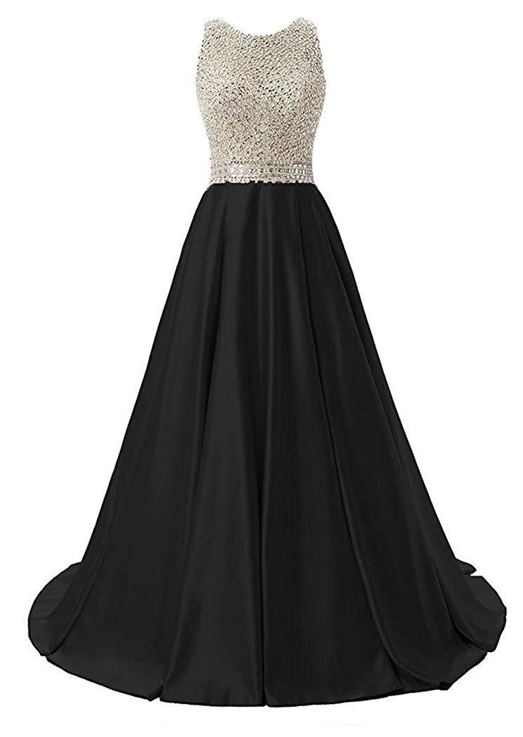 Luxury Royal Blue A-line   Prom     dresses   vestido de noite strapless crystal long chiffon   prom     dress   vestido de fiesta de graduacion