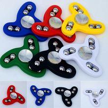 นิ้วมือปั่นเกลียวแบริ่งอยู่ไม่สุขถุงน่องของเล่นEDCเด็กเด็กของขวัญใดๆ-พวงมาลัยStres Spinerของเล่น