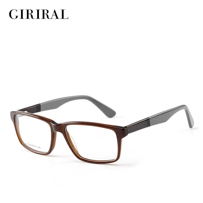 21976c43bb8 Accetate men glasses frame retro clear fashion designer optical transparent  eyeglasses frame  AT3389