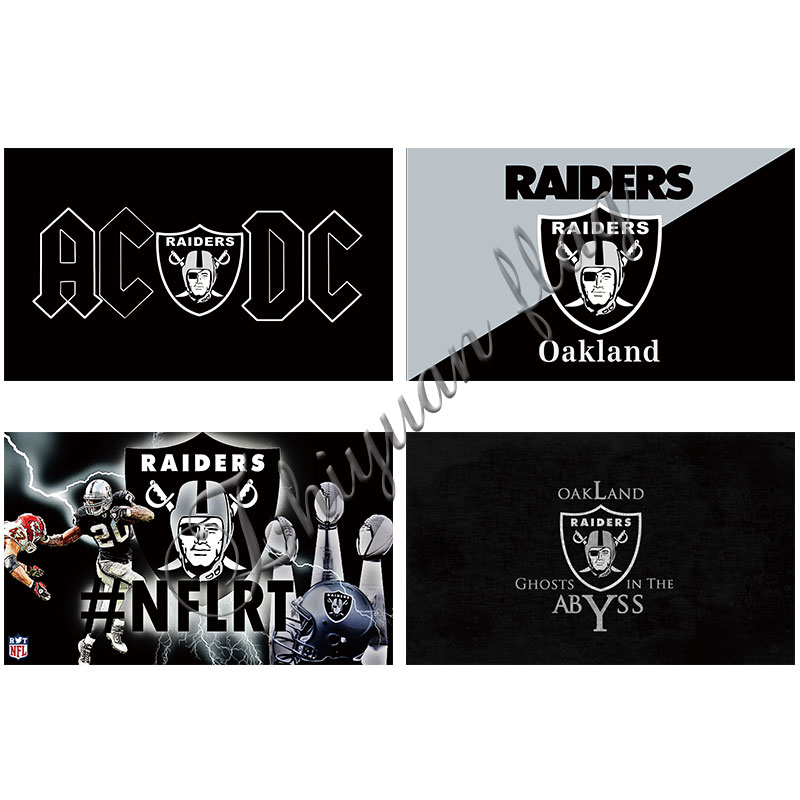 Oakland Raiders Flag Las Vegas Raiders 3ftx5ft Banner Digital Print Custom All Flag Black Oakland Raiders Raiders Flag Oakland Raiders Flagoakland Raiders Aliexpress