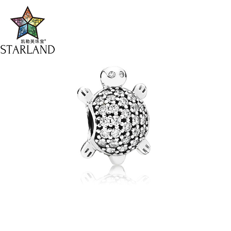Starland 100% 925 Sterling silver Turtle Tortoise elegant Charm Beads Bracelet DIY Jewelry Making Original for womenStarland 100% 925 Sterling silver Turtle Tortoise elegant Charm Beads Bracelet DIY Jewelry Making Original for women