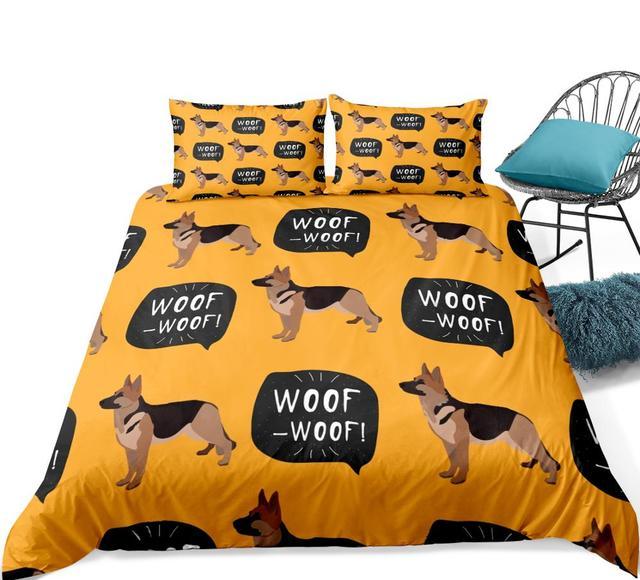 Woof Woof Duvet Cover