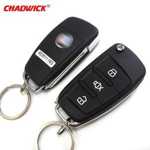 Image 3 - CHADWICK 8118 für japanische auto #7 flip schlüssel Auto Alarm System withSiren one Way Auto Sicherheit Keyless Entry fahrzeug anti diebstahl