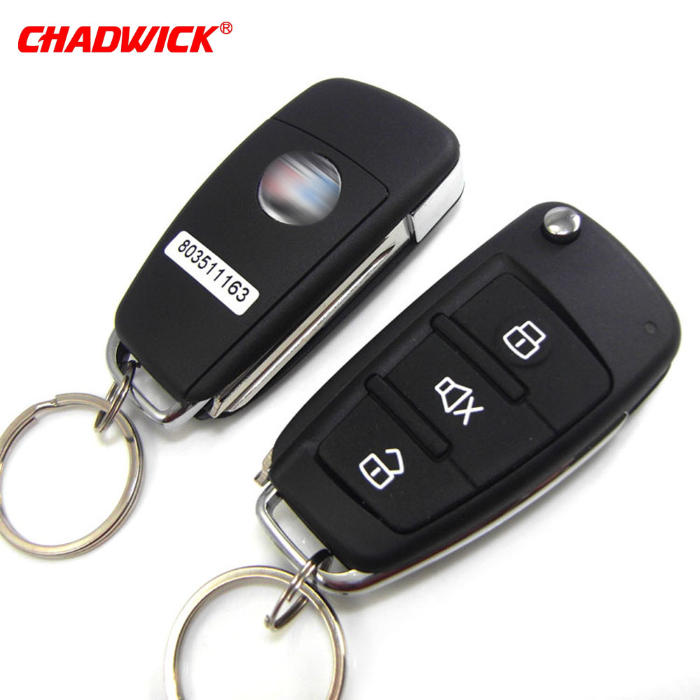 Image 3 - CHADWICK 8118 for Mitsubishi #7 flip key Car Alarm System withSiren one Way Auto Security Keyless Entry  vehicle anti theft-in Burglar Alarm from Automobiles & Motorcycles