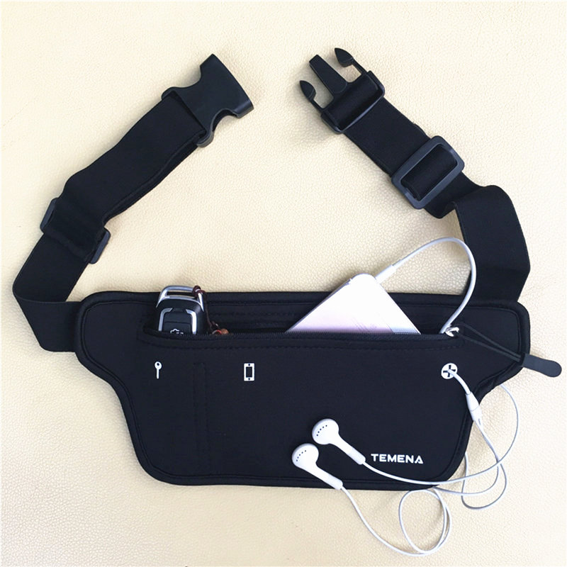 Outdoor Waterproof Men Women Running Waist Bag Fitness Packs Mobile Phone Holder Jogging Sports Running Belt Water Bags
