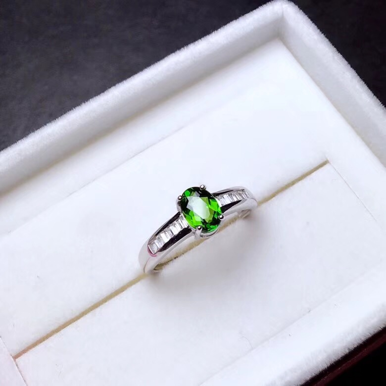 HTB1NZ XbifrK1RjSspbq6A4pFXaM - Natural Tested Diopside Rings for Women  925 Sterling Silver
