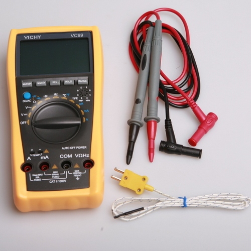 Vichy Original VC99 3 6/7 Auto range digital multimeter have bag better FLUKE 17B+ free shipping