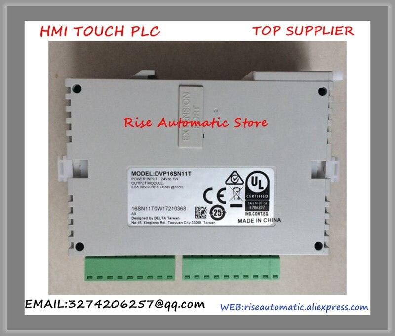 DVP16SN11T DC24V PLC 16DO transistor Module New Original цена