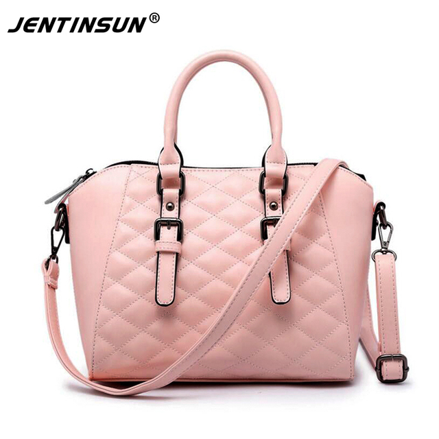 Korean Bags Women Handbags Quilted Element Shell Bag Lady Shoulder