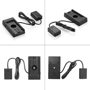 Image 5 - NP F970 Andoer do NP FW50 akumulator płyta montażowa do Sony a7/a7R/a7S/a7II/a3000/a5000/a5100/a6000/a6300/a7s II/a7m II