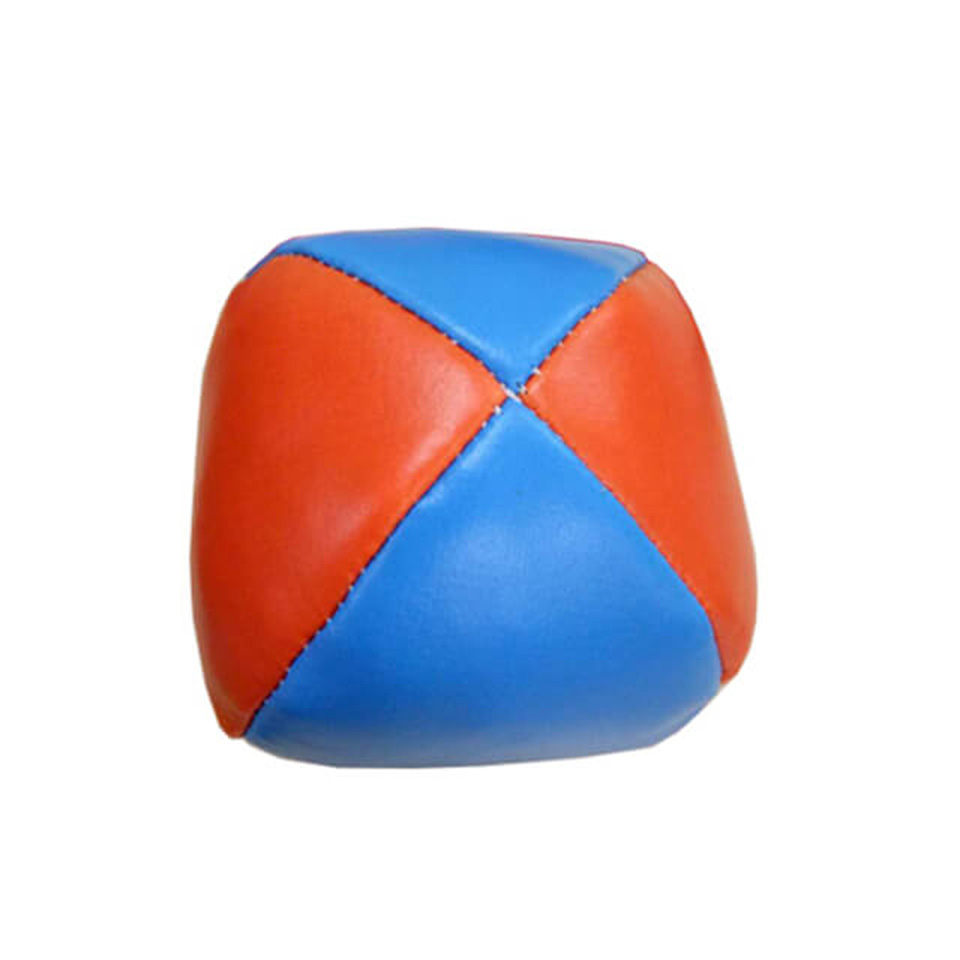2.9  Inch Leather Stuffed Juggle Training Ball For Beginner A Variety Of Colors To Choose From Juggler Juggling Bean Bag