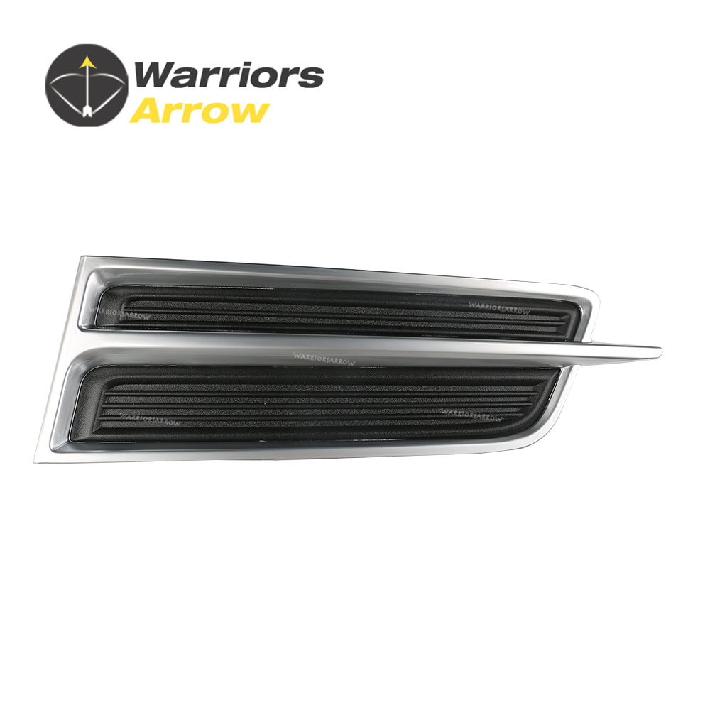 Bumper Grille For 2013-2015 Cadillac XTS Set of 2 Left /& Right Side Plastic