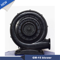 New GM 15 Blower Inflatable Electric Operated Centrifugal Duct Ventilador Inflatable Costume Fan 580W 220v/50HZ 1350Pa 420m3/h
