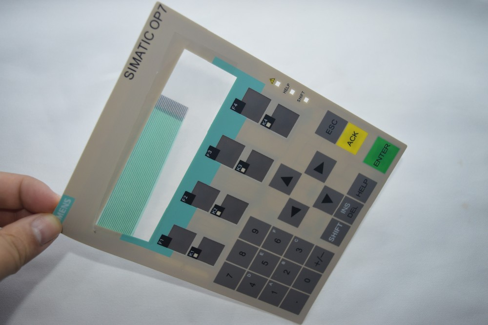 Membrane keypad for 6AV3607-5BB00-0AH0 OP7 DP, 6AV3 607-5BB00-0AH0 hmi keypad ,simatic HMI keypad , IN STOCK 6av3607 5ca00 0ad0 for simatic hmi op7 keypad 6av3607 5ca00 0ad0 membrane switch simatic hmi keypad in stock