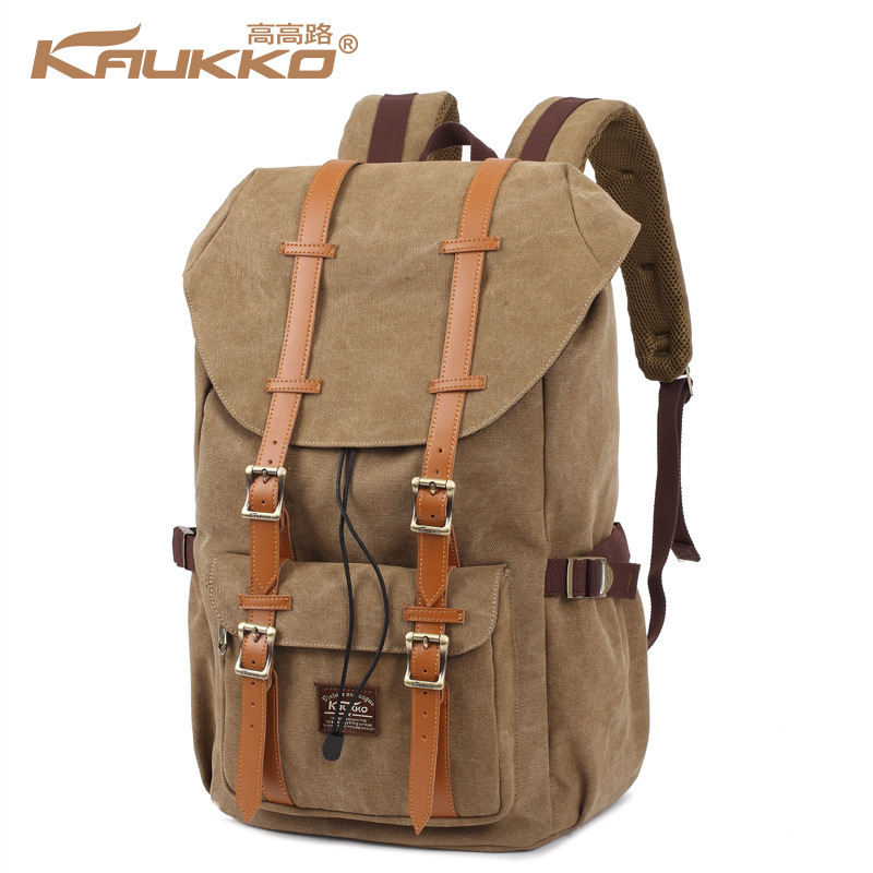 Kaukko Canvas Backpacks Men Travel Mochila School Backpack Skull Skateboard Skate Bolso Male Sac Bag Youth Laptop Bags #3