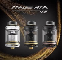Original Coilart Mage RTA V2 24mm Vaporizer Rebuildable Tank Atomizer Fit 510 Thead Mod Electronic Cigarette